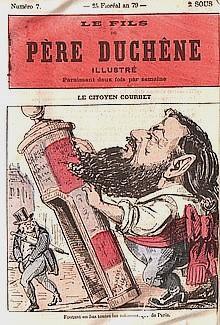 Père Duchesne Illustré - Gustave Courbet