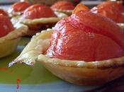 Tartelettes tomates renversées