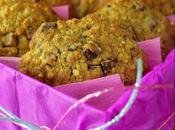 Cookies banane, flocons d'épeautre chocolat très tendres