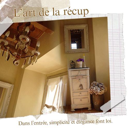 l 39 art de la r cup ration fait loi pour la d coration de l 39 entr e paperblog. Black Bedroom Furniture Sets. Home Design Ideas
