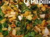 Blettes épices (cumin, cardamome, cannelle, curcuma)