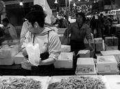 Tokyo Tsukiji marché poissons