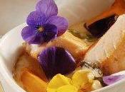 Crevettes, saumon légumes nage coco gingembre citronelle