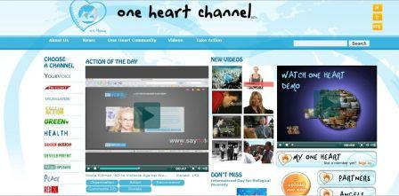 One heart Channel : première Web TV humanitaire