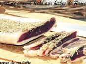 Magret canard séché herbes Provence