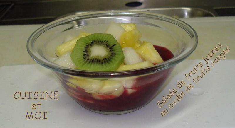salade de fruits jaunes infusion de fruits rouges voir. Black Bedroom Furniture Sets. Home Design Ideas