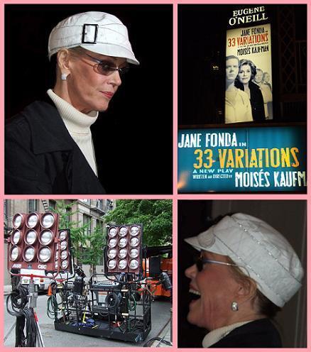 Jane Fonda et les Cinoches.