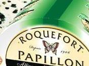 Roquefort Papillon entre logos labels qualité