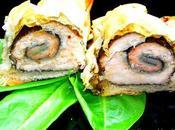 Truite saumoné l'oseille roulé coque cranquante