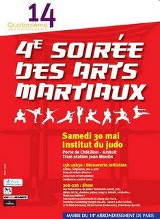 4 me nuit des arts martiaux le programme d taill lire - Institut national du judo porte de chatillon ...