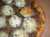 Pizza l'oignon chèvre