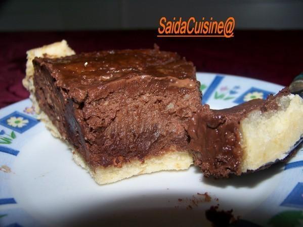 tarte au chocolat et eclats d amende et pate sans petrissage si vou plait paperblog
