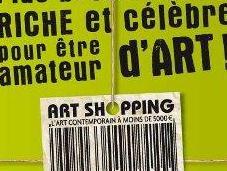 shopping, l'art contemporain moins 5000