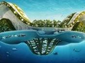 Villes flottantes ferme urbaine