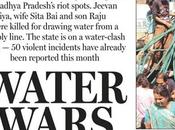 Apres emeutes faim, révoltes pour l'eau