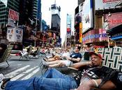 Times Square devient zone piétonne
