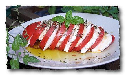 Tomates mozzarella.