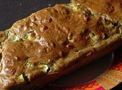 Cake courgettes, chèvre, coriandre épices