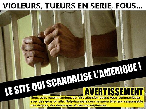 UN SITE DE RENCONTRE VERSION PRISON AUX USA !