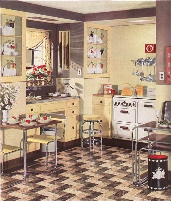 Retro cuisine paperblog - Photo cuisine retro ...