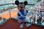 Mickey invité exceptionnel Roland Garros