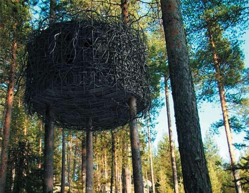 Harads tree hotel le luxe d une cabane dans les arbres en - Hotels de charme le treehotel en suede ...