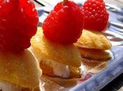 Mini-sandwiches sucrés très rafraîchissants Very refreshing mini sweet sandwiches