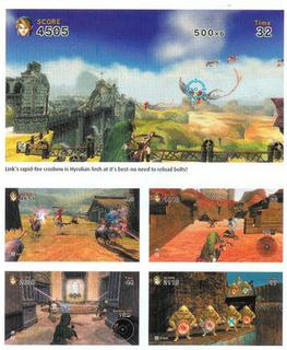 Un scan pour Link's Crossbow Training