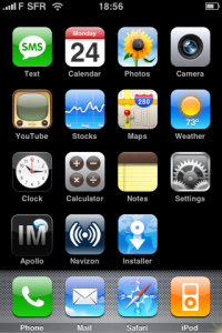 iphone alex sfr