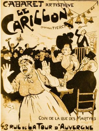 Rue des martyrs le cabaret le carillon paperblog for Restaurant le miroir rue des martyrs