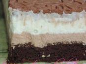 Gâteau d'anniversaire trois chocolats Demarle