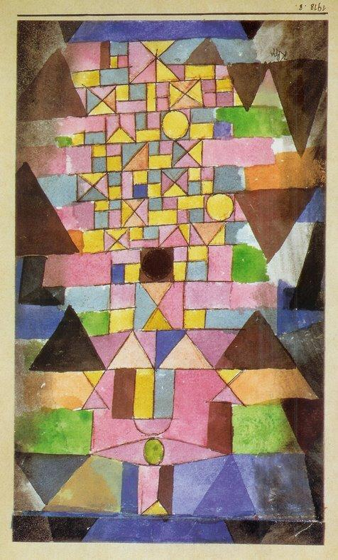 One more, in celebration of Paul Klee's birthday. | Paul klee, Abstrait, Peinture abstraite