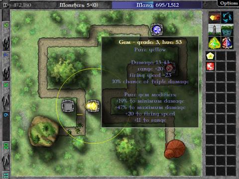 GemCraft - en cours de jeu