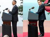 Nicolas Sarkozy jamais sans tabouret