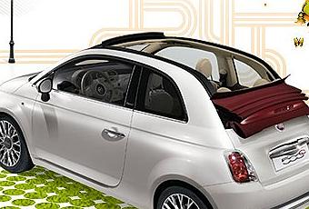 la fiat 500 cabriolet bient t disponible d couvrir. Black Bedroom Furniture Sets. Home Design Ideas