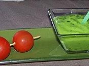 Gaspacho d'avocat citron vert