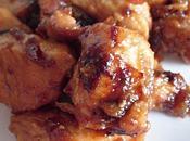 Poulet caramélisé miel