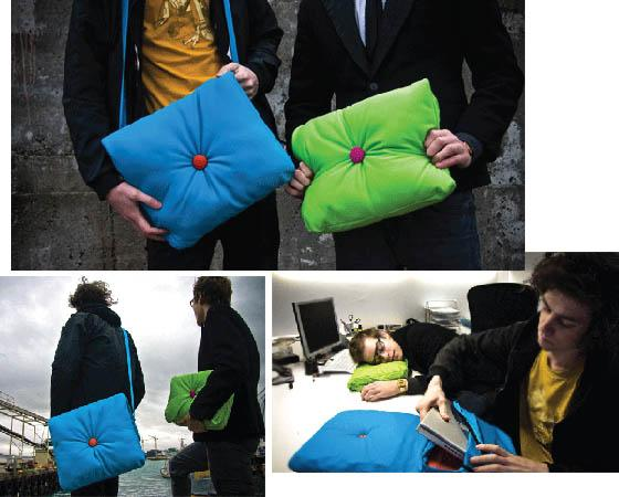 sac oreiller Coussin pour ordinateur portable   Ziloo.fr sac oreiller