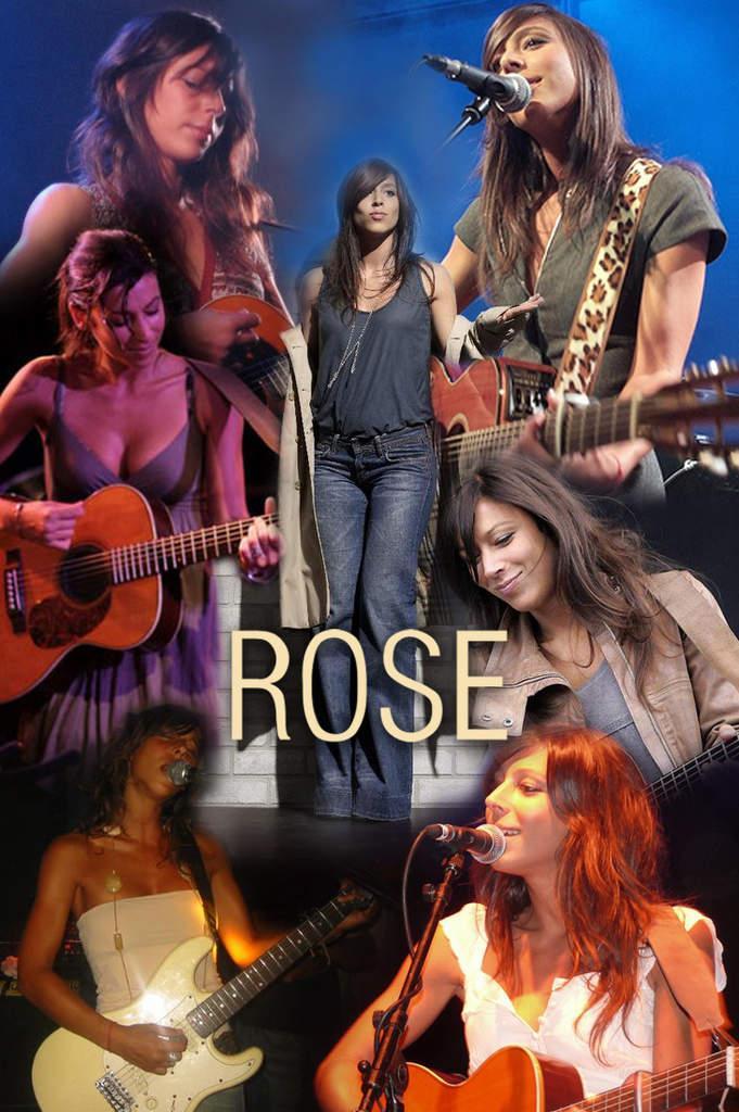 Création Nicolas - chanteuse Rose