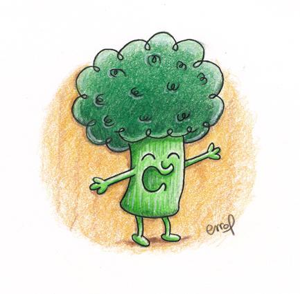 Un brocoli...