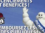 Parti socialiste Suppressions postes chez Michelin