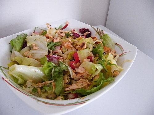 Salade de pommes de terre et saumon marin paperblog - Salade pomme de terre saumon fume ...