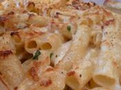 Rigatoni quatre fromages persil l'ail