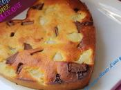 Financier poires toblerone