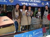Vinexpo Bordeaux bord Belem, transport voile