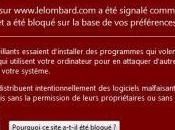 Sécurité Google concours Lombard, danger pour votre