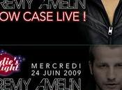 SHOWCASE LIVE JEREMY AMELIN QUEEN CLUB (Paris)