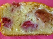 Cake fraises framboises (sans beurre)