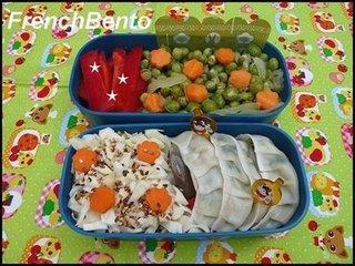 Petite idée de lunch box estivale : poulet au citron et légumes verts croquant