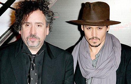 Johnny Depp s'associe de nouveau à Tim Burton